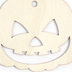Halloween wood slices