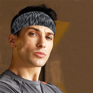 sports button headband