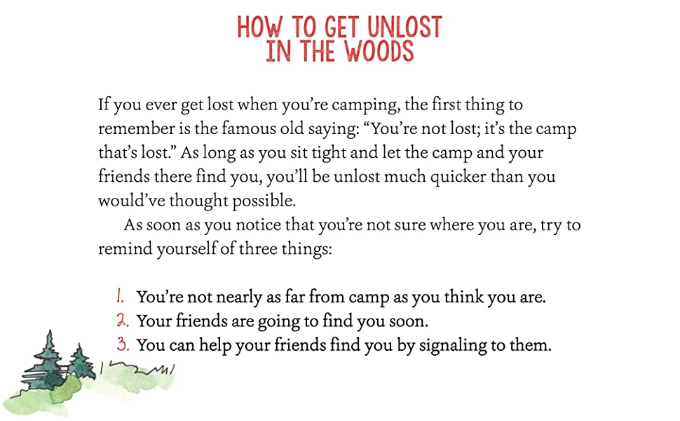 Sample spread: How to get unlost in the wood