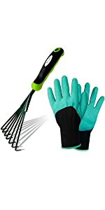 Hand Rake Garden Tool