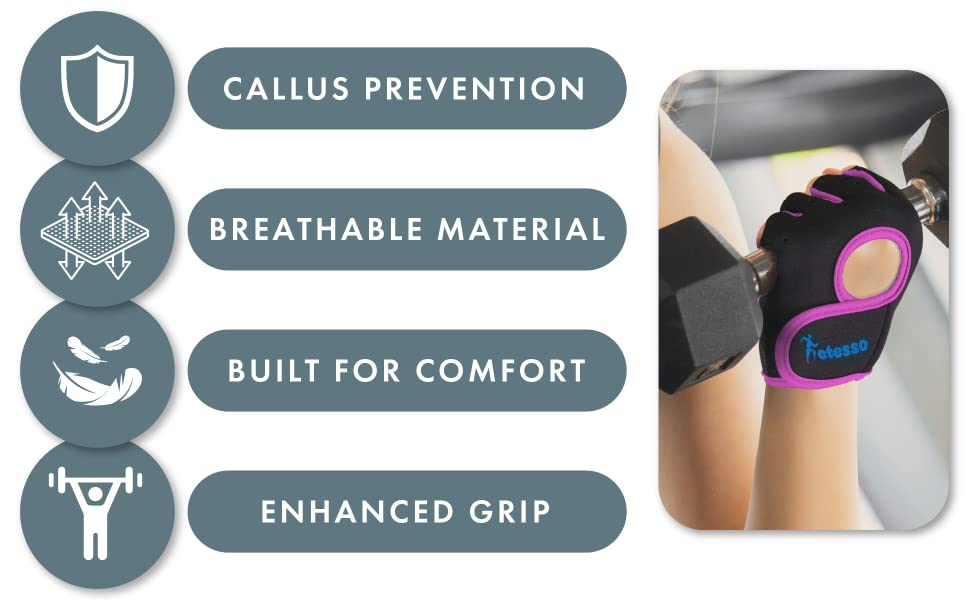 Callus prevention, breathable material, enhanced grip, built for comfort.