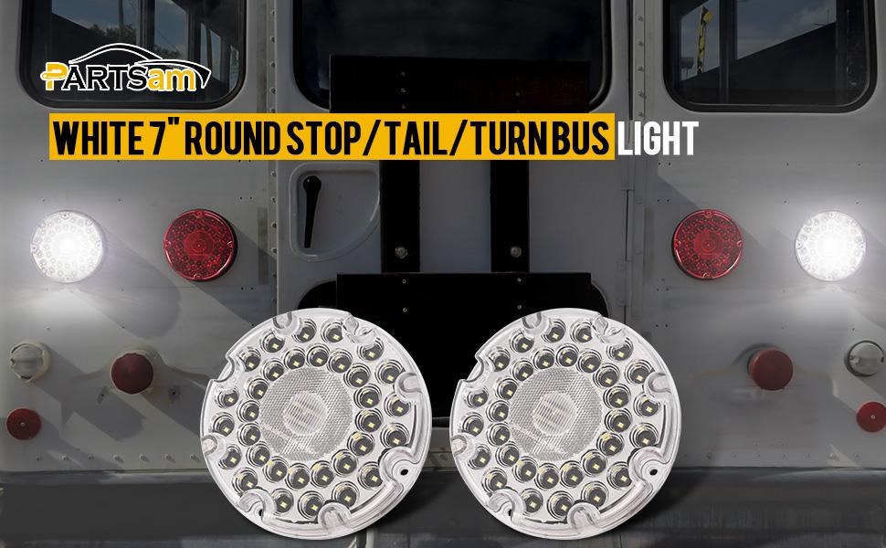 7 inch round transit backup light