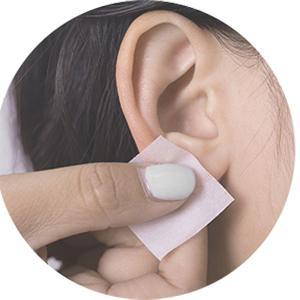 Ear disinfection