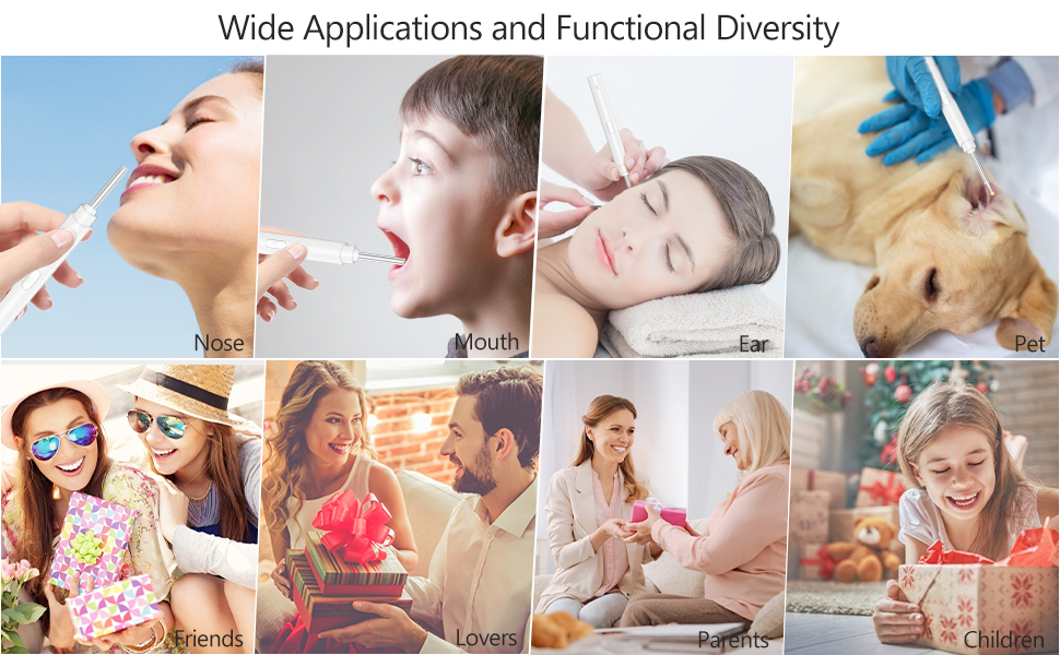 intellectual visual ear wax removal wide applications