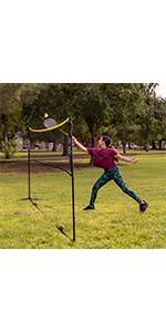 Sports Easy Setup Badminton Set 14 ft