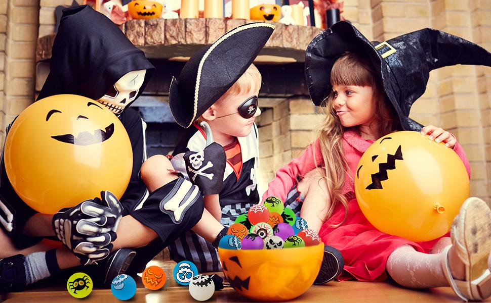 Halloween bouncy ball