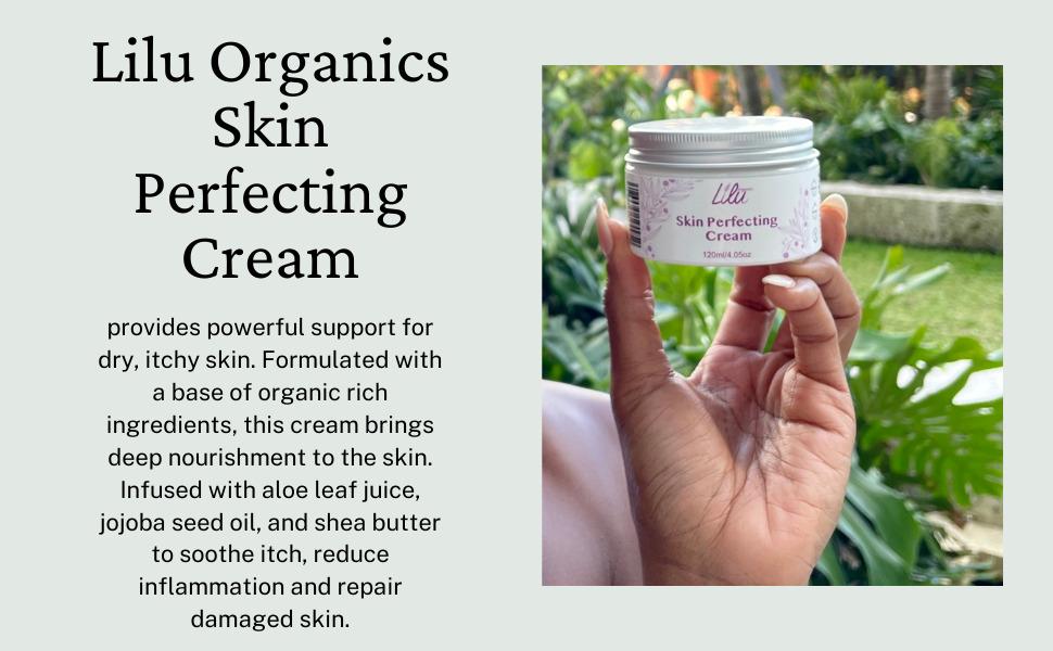 Lilu Organics Skin Perfectin Cream