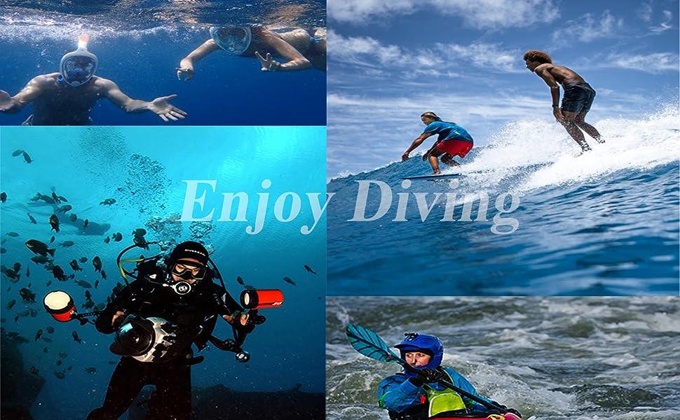 3mm diving hood