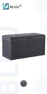 100 Gallon Deck Box