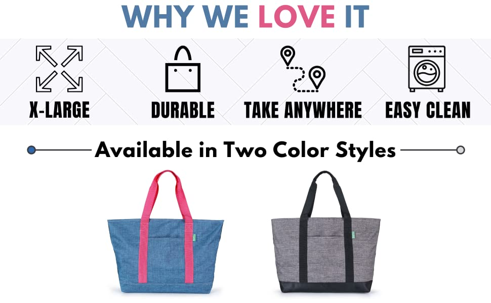 x-Large, Durable, Take Anywhere, Easy clean
