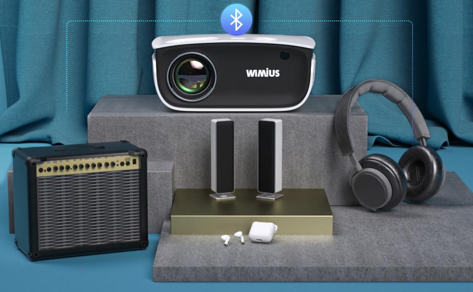 WiMiUS Proyector Bluetooth