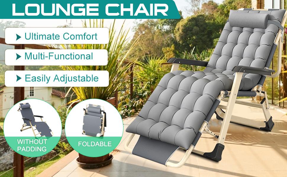 NAIZEA Patio Lounge Chairs