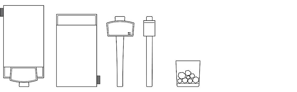 glacio ice hammer mallet and canvas lewis bag