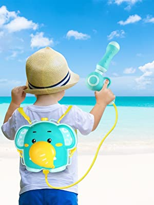 Water gun is a good partner for summer entertainment. Enjoy the summer with your children!