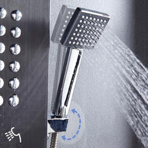 Flexible Handheld Shower