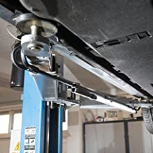 LINE LIGHT BONNET C+R is supplied with an adjustable telescopic holder