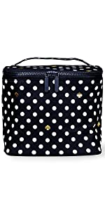 kate spade new york, polka dot, insulated lunch tote