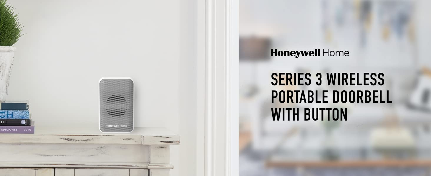 Series 3 Wireless Portable Doorbell with Button