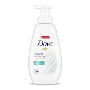 Dove Instant Foaming Body Wash Product Image