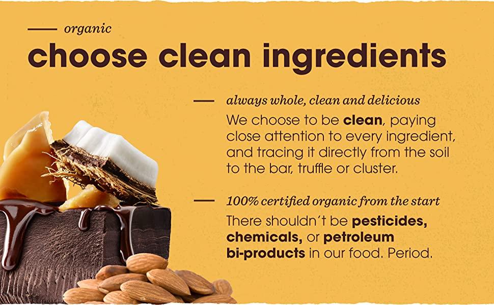 Choose Clean Ingredients