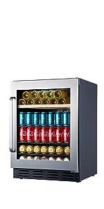 beverage refrigerator small