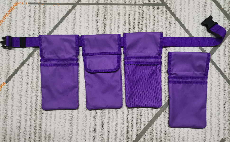 gardening tool belt with pouch pocket