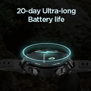 20-day Ultra-Long Battery life