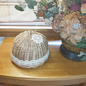 rattan fly cover