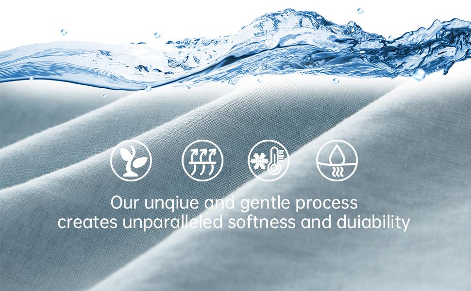 100% pure natural linen