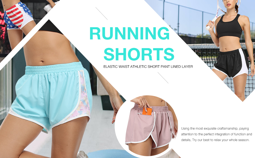 Quick Dry Running Shorts for women