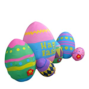 Inflatable Easter Eggs