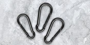 Carabiner clips