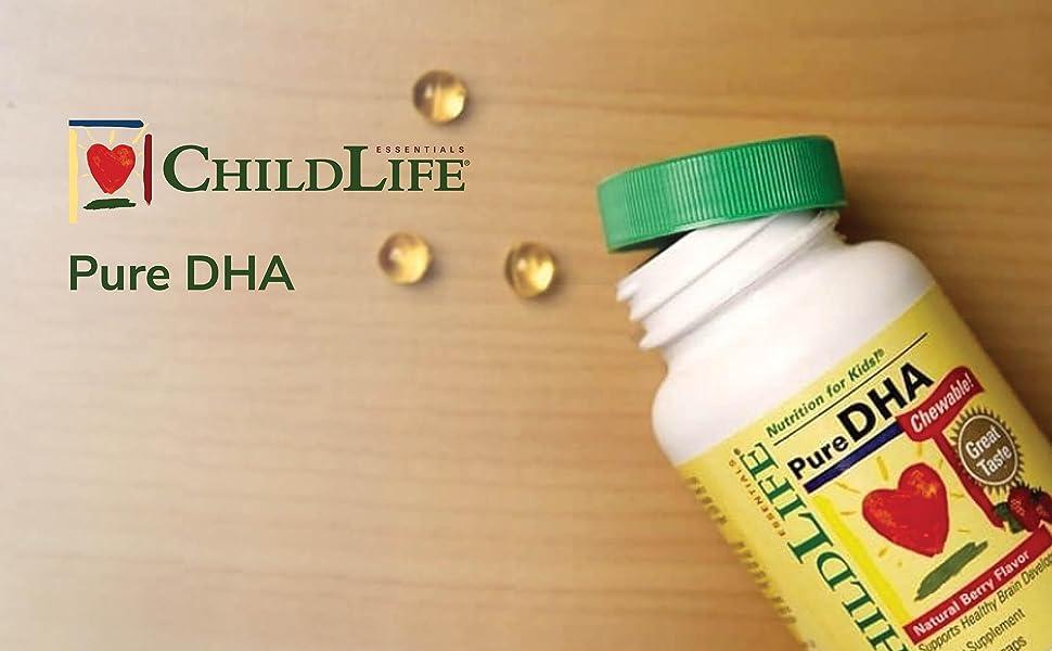 childlife pure dha soft gel capsules
