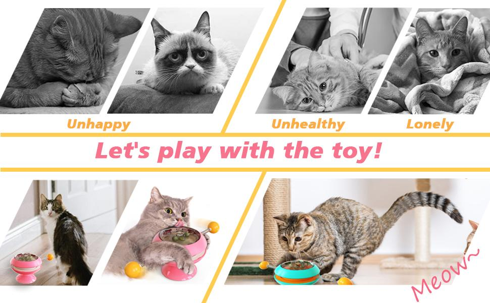 Let's play with the toy