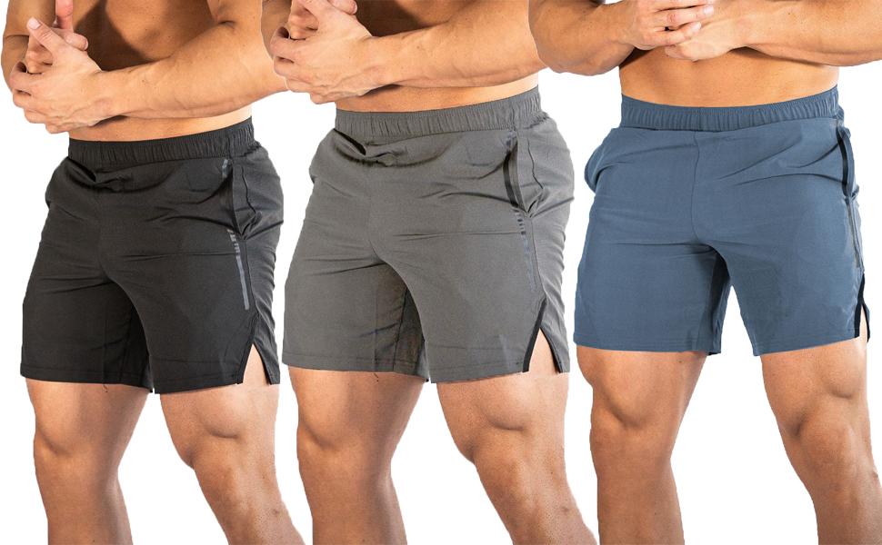YKB Gym Workout Shorts For Men
