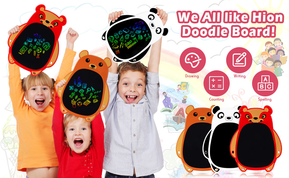 We all like Hion Doodle Board!