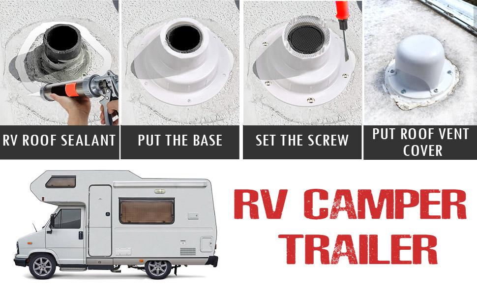 Nu-Set; Nu-Set RV roof vent caps; vent cover; rv roof vent;