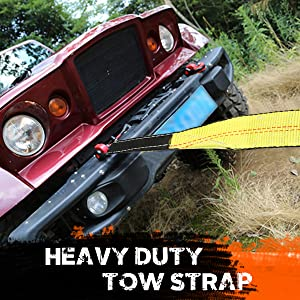 Heavy Duty Tow Strap