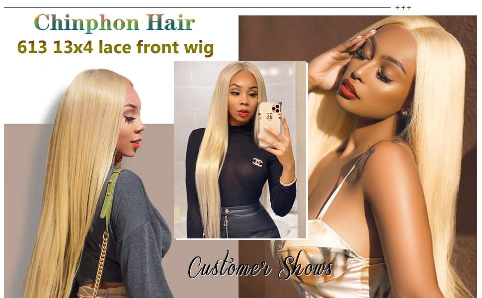 613 13x4 lace front wig human hair