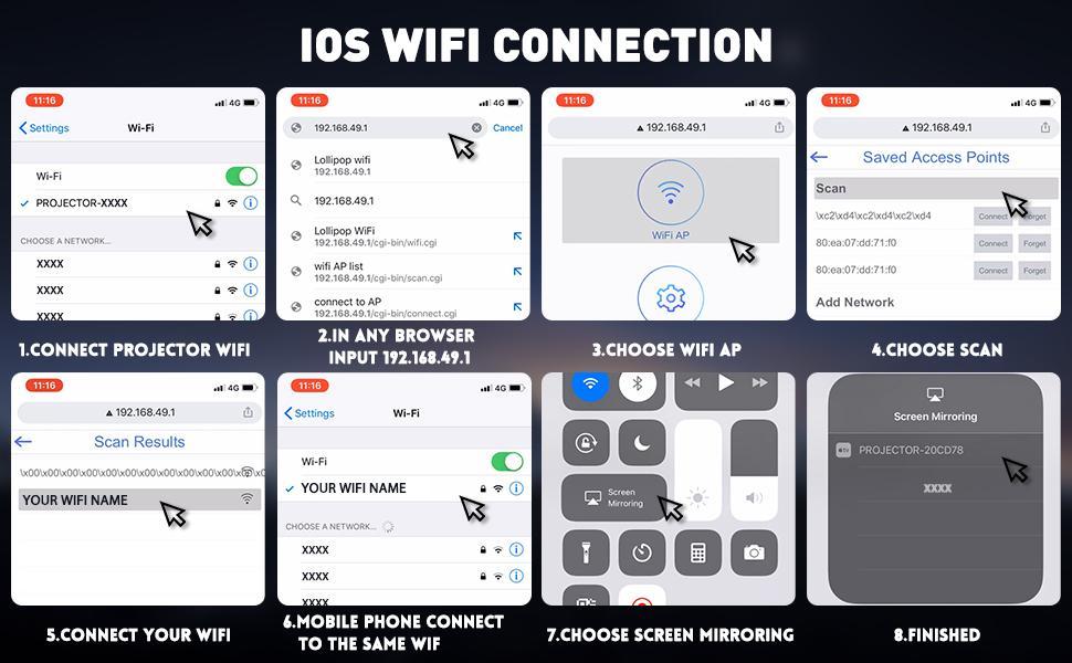 IOS WiFi Verbindung
