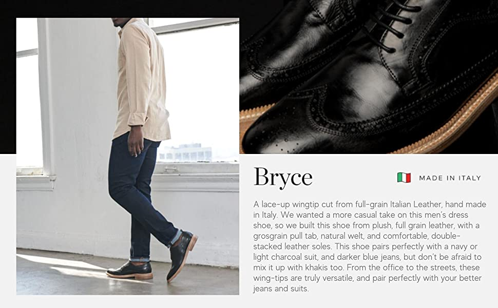 Bryce premium brogue oxford made in Italy