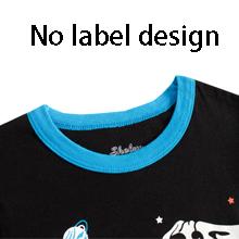 No label design boys pajamas