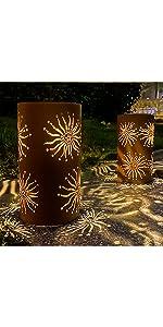 Sunflower Table Solar Lamp