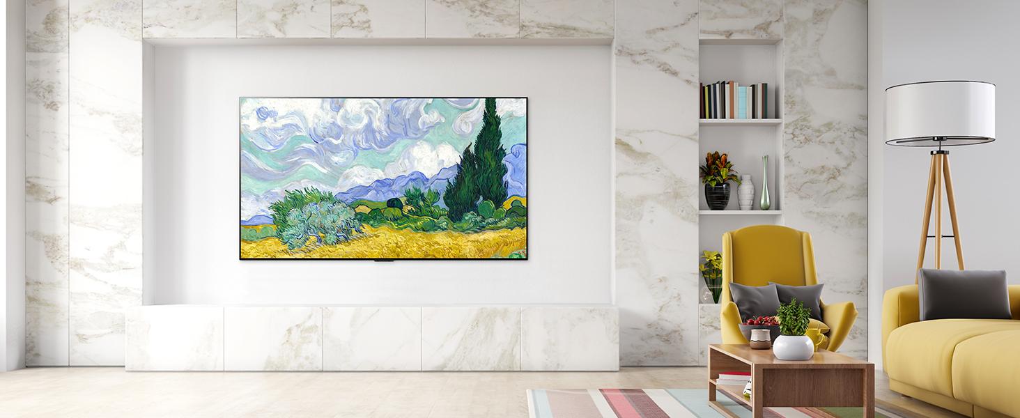 OLED G1 Lifestyle Image living room