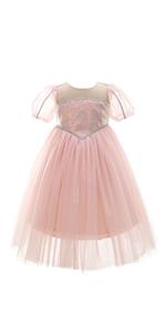 baby pink ballgown