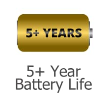 5+ Years Battery Life