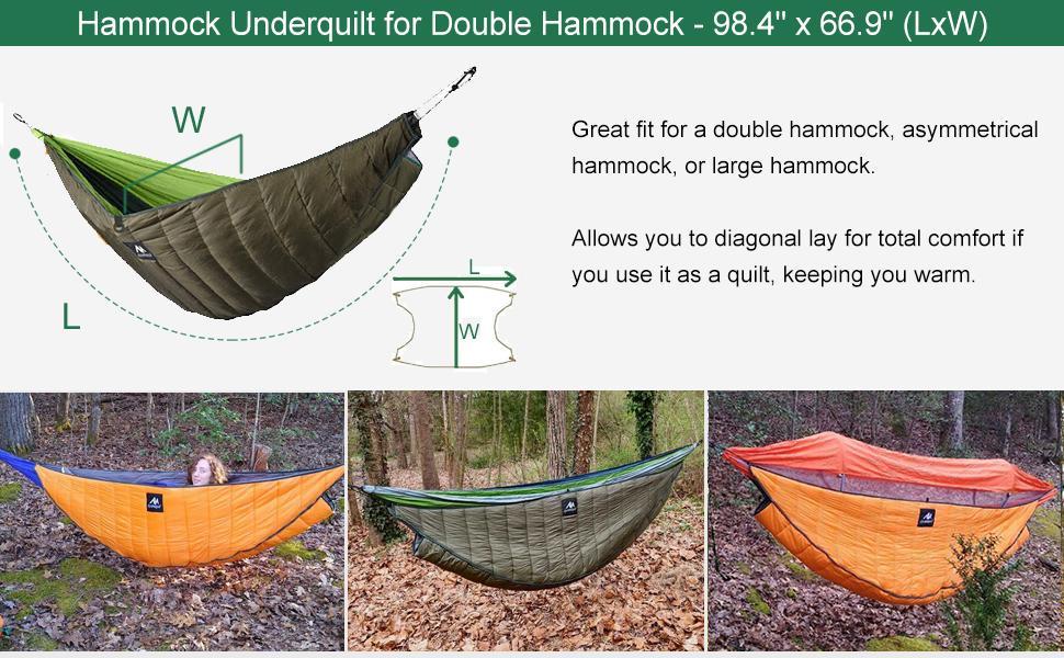 double size hammock underquilt