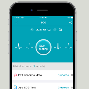SPOREX smart watch App to measure heart rate blood pressure and blood oxygen