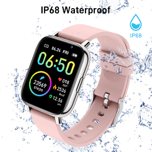 IP68 Waterproof you can wear it while washing your hands.