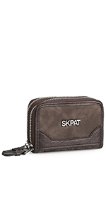 Cartera Billetero Tarjetero Monedero de la firma SKPAT. Diseño exclusivo. Incluye caja para regalo.
